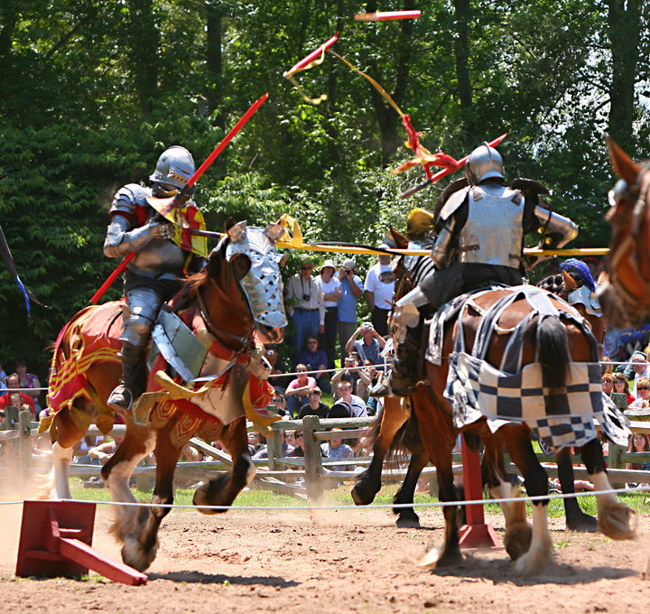 Horse Jousting Age of Shilvry