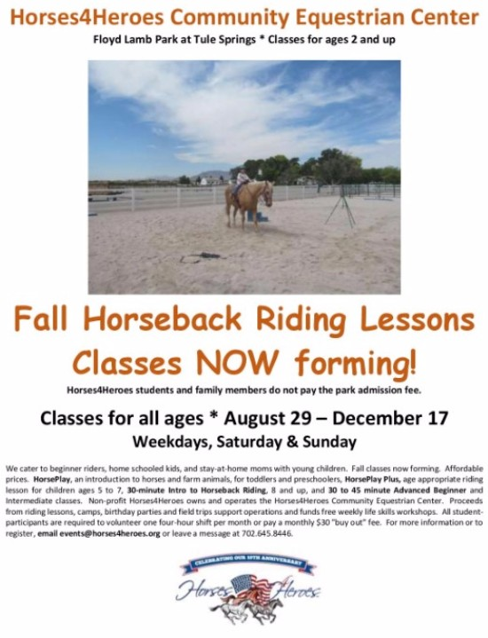 horse Rides Class