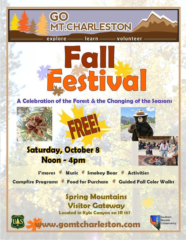Fall Festival Mt Charleston
