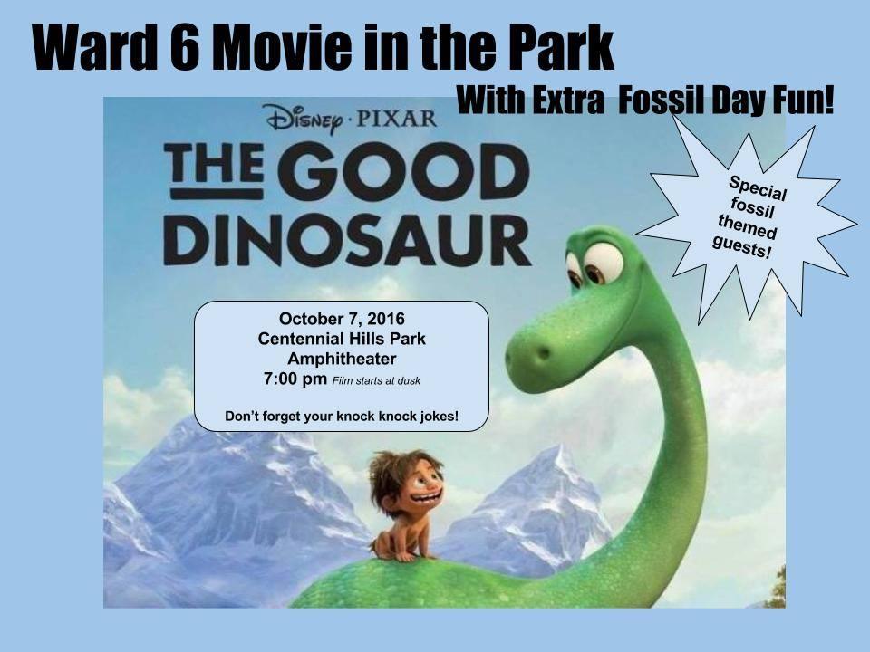 The Good Dinosaur Oct 7